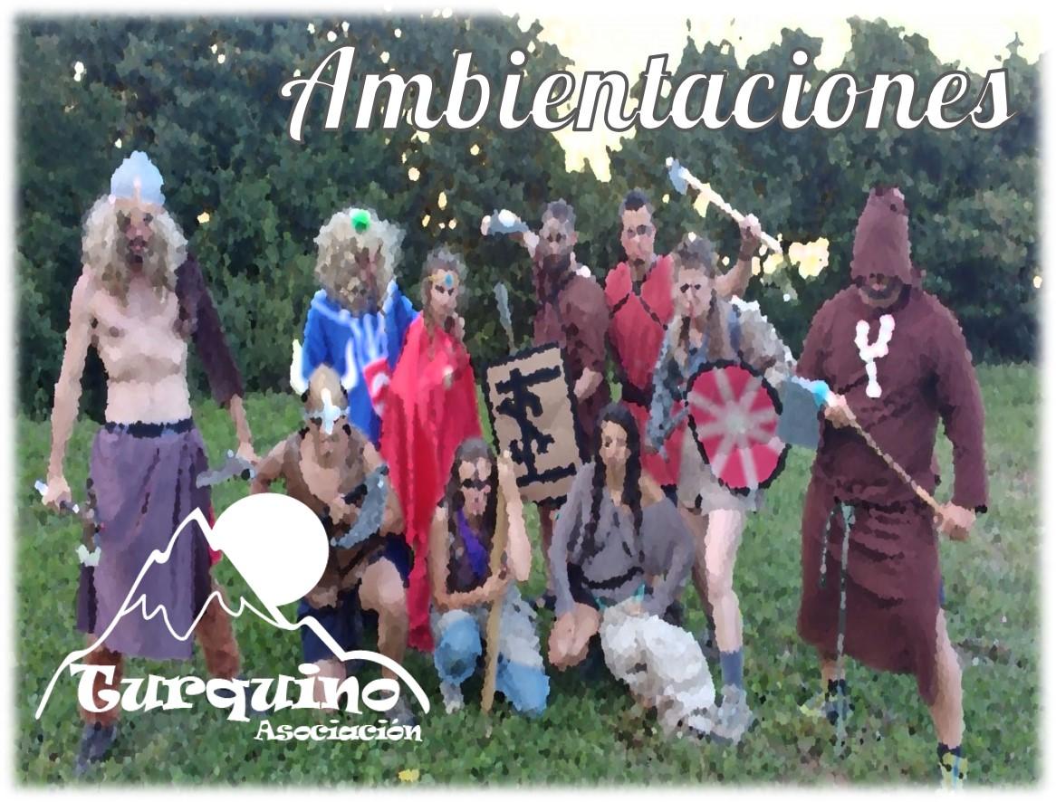 Vikingos en campamento de verano Turquino