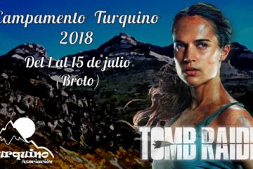 Lara Croft - Campamento Turquino 2018