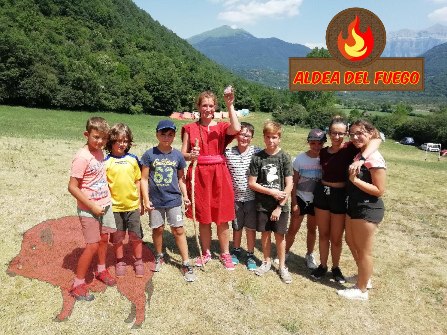 Aldea del fuego| Campamento Turquino 2018: la leyenda de Ordesa