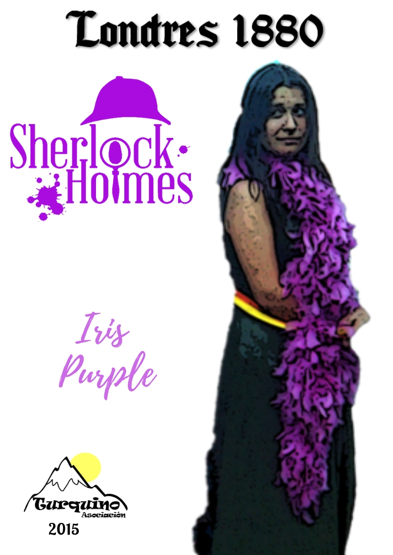Iris Purple - Campamento de Verano Turquino 2015