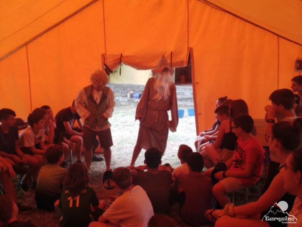Campamento Turquino 2019 Gandalf y Bilbo