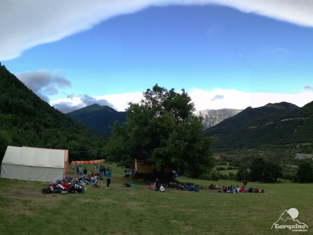 Campamento de verano en Broto